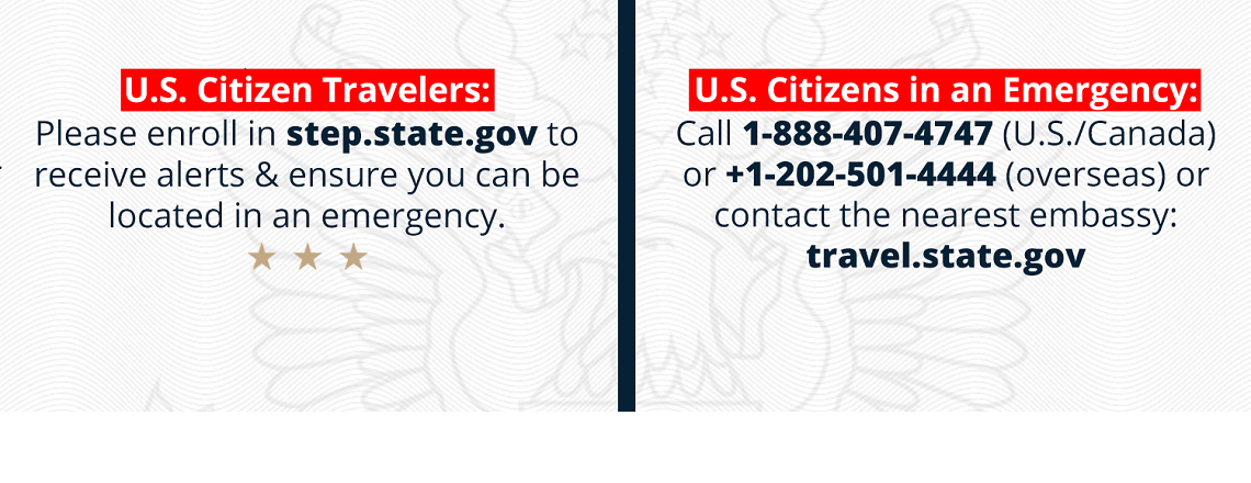 American Citizens: Enroll in STEP