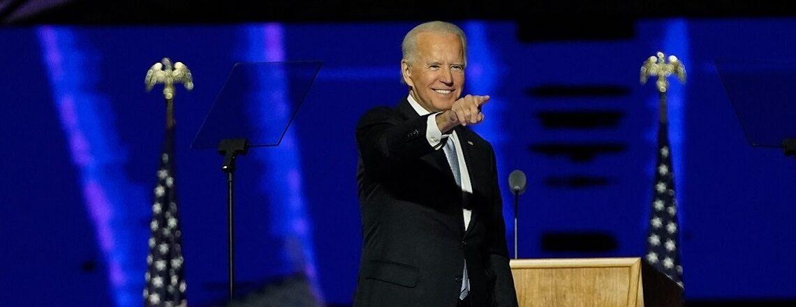 Ontmoet Joe Biden Amerika's volgende president