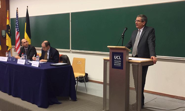 Remarks by Chargé d'Affaires Matthew R. Lussenhop on U.S. - Belgian Defense Cooperation November 28, 2017, Catholic University of Louvain-la- Neuve