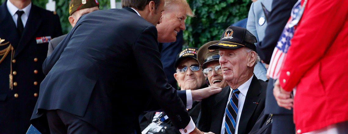 Remarks by President Trump on the 75th Commemoration of D-Day