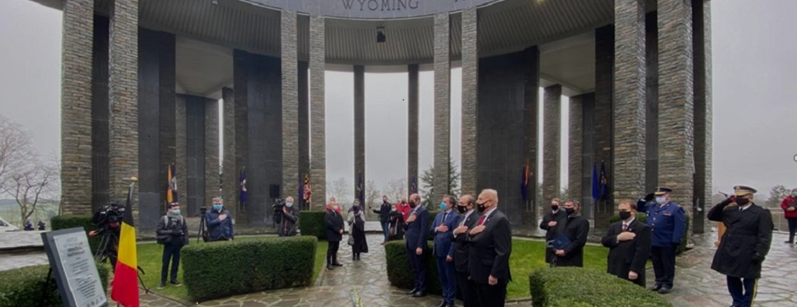 Ambassador Gidwitz Remarks at Battle of the Bulge Memorial at Mardasson
