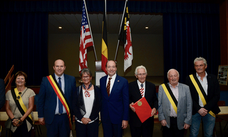 """Ambassador Ronald J. Gidwitz's Remarks at the 75th Anniversary Commemoration of the Crash of the """"Picklepuss"""""""