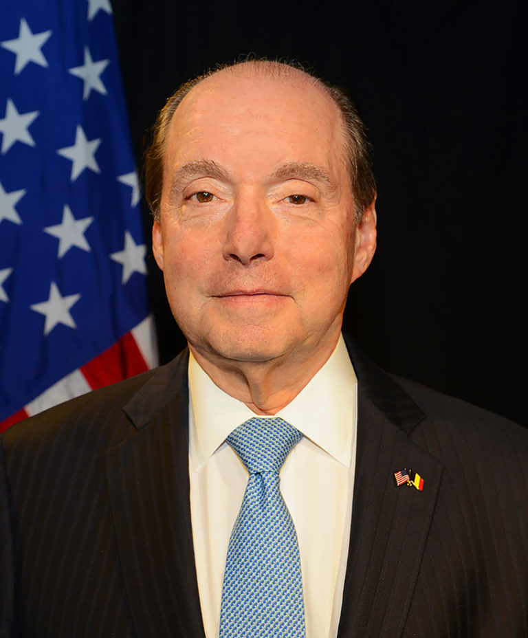 Photo of U.S. Ambassador to the Kingdom of Belgium Ronald J. Gidwitz