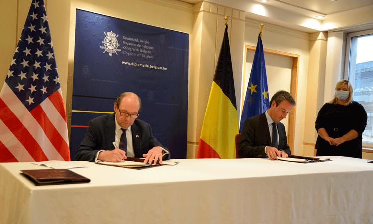 België en de Verenigde Staten ondertekenen akkoord om 'preclearance'-systeem in te voeren op Brussels Airport