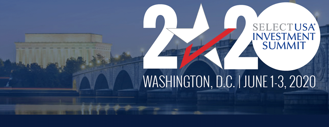 U.S. Embassy encourages Belgian businesses to attend the  2020 SelectUSA Investment Summit