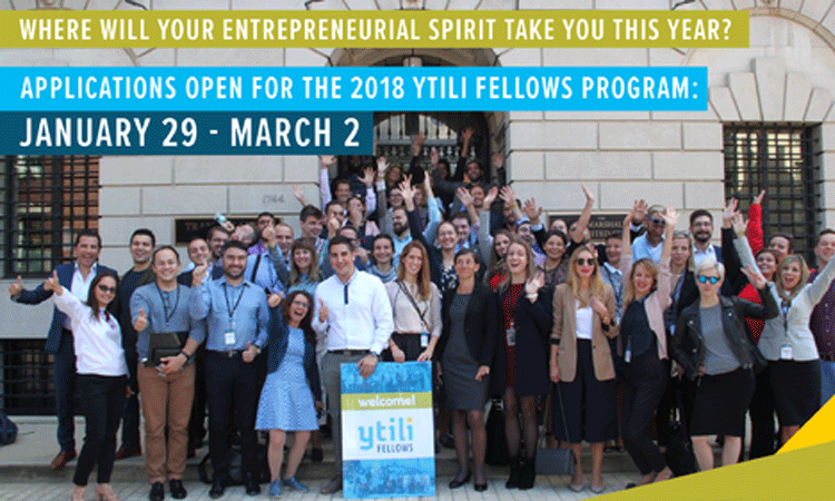 YTILI 2018 application opens
