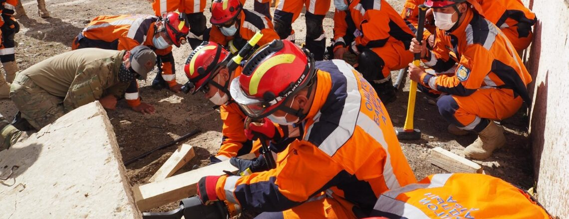 United States and Mongolia Successfully Conduct Khangai-21 Disaster Response Exercise