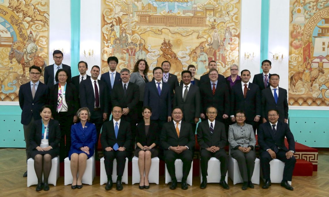 Joint Statement: U S -Japan-Mongolia Trilateral Meeting