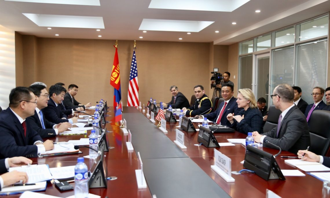 U S -Mongolia Annual Bilateral Consultations in Ulaanbaatar