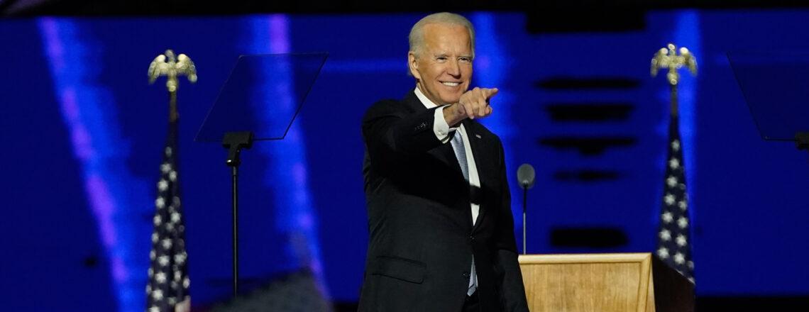 Joe Biden: America's next president