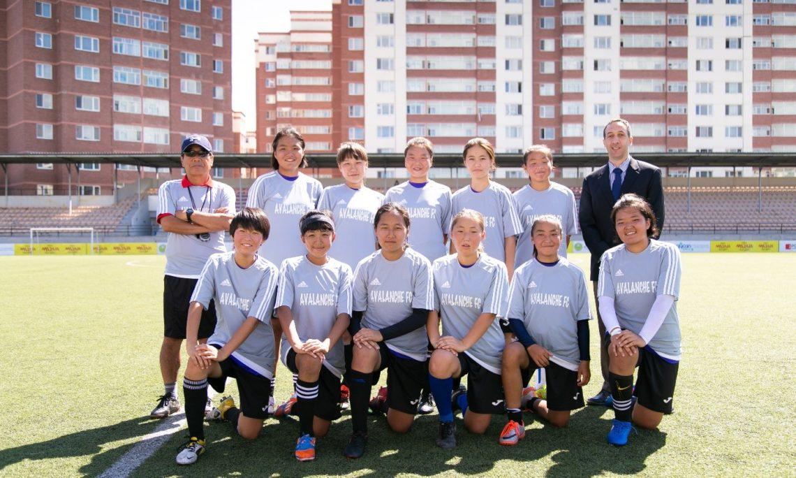 U S -Mongolia Virtual Girls' Soccer Exchange: Avalanche! | U S