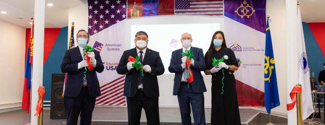 American Corner Opens in Darkhan