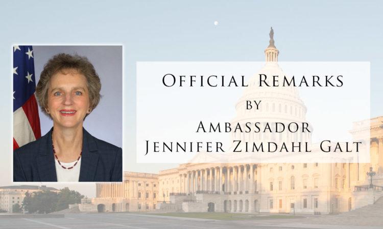 AMB Remarks