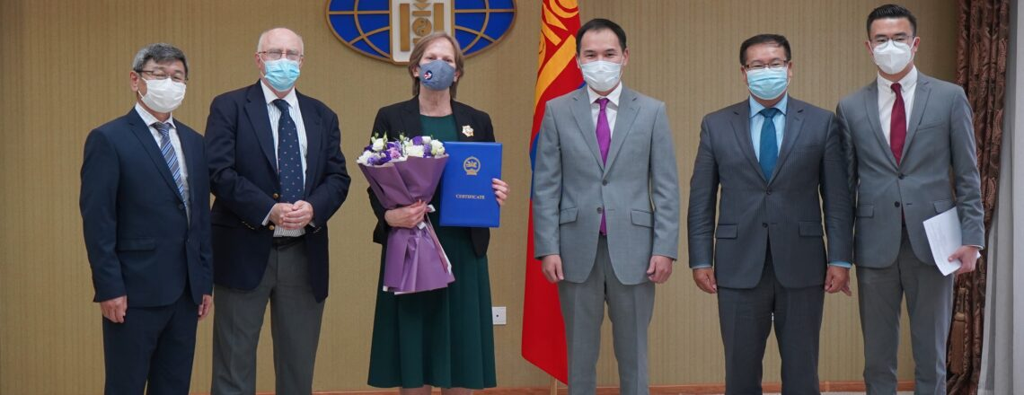 On Its 30th Anniversary, Peace Corps Mongolia Receives Order of the Polar Star