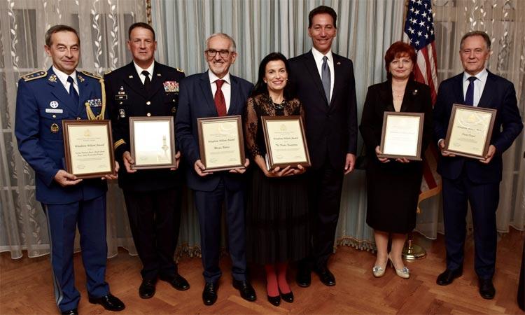 2018 Woodrow Wilson Award Honorees (Embassy photo)