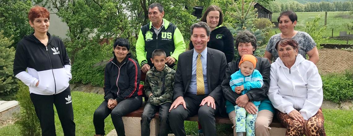 Ambassador Adam Sterling Visits Rožňava Region