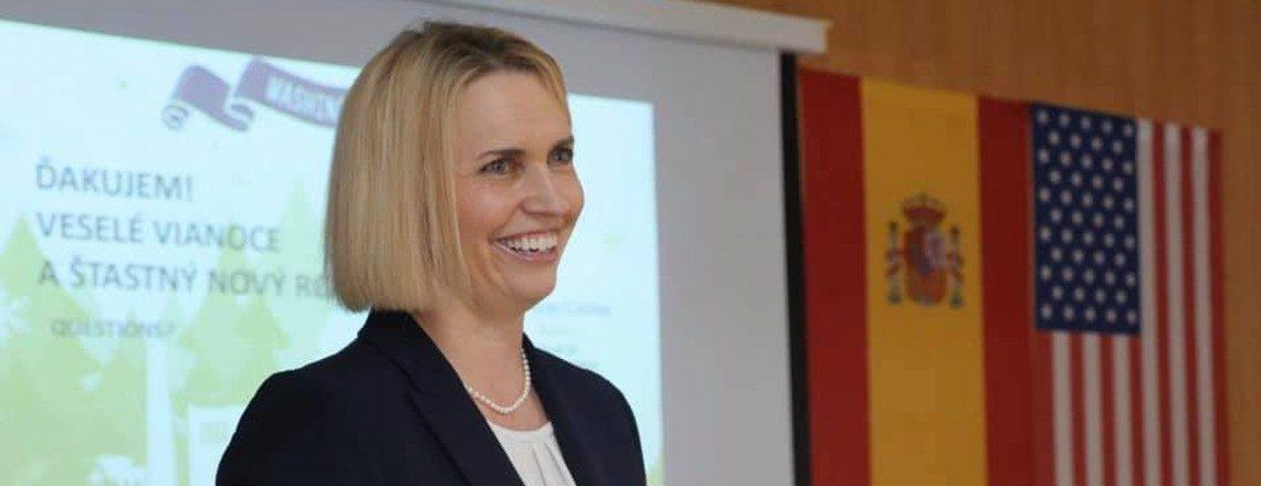 Ambassador Bridget Brink Visits Kosice Again