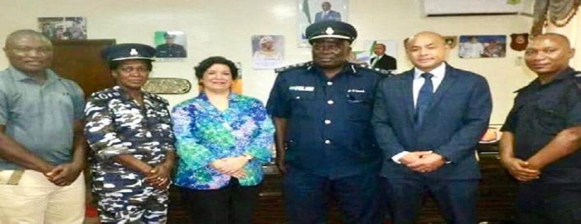 U. S. Ambassador Maria Brewer met with Inspector General Ambrose Sovula.
