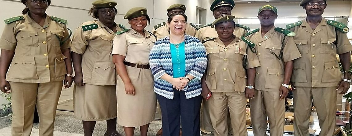Ambassador Brewer met with Sierra Leone Correctional Services (SLCS) Officials