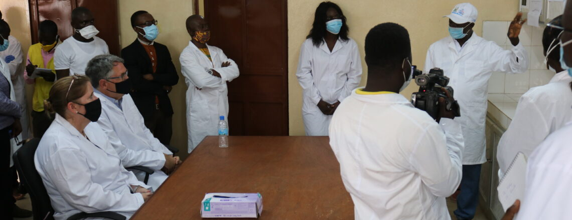 Ambassador David Reimer visits Bombali District to review US-supported malaria projects