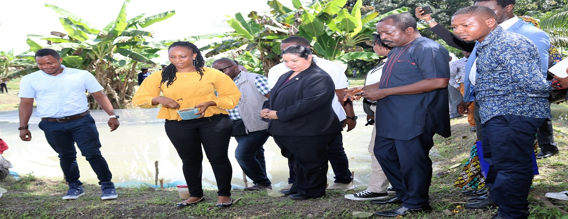 Ambassador Maria Brewer visit Njala University