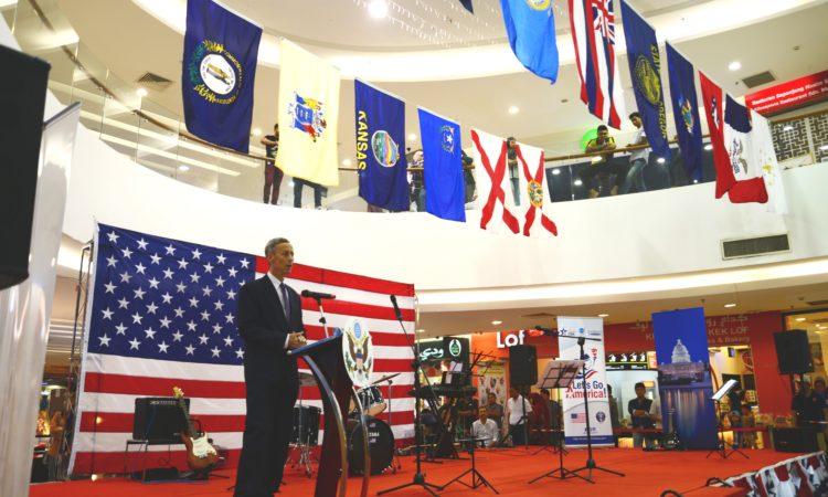 Ambassador Allen at 'Let's Go America!' 2016