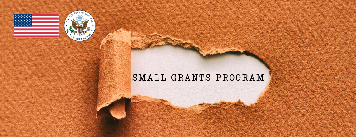 U.S. Embassy BSB's Small Grants Program now open for application