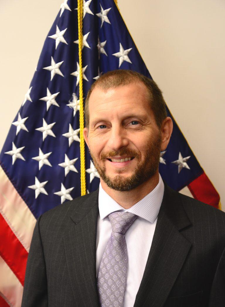 Photo of Chargé d'Affaires Scott E. Woodard