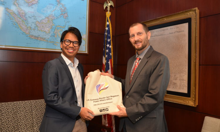 CDA with 2018 Fulbright Awardee