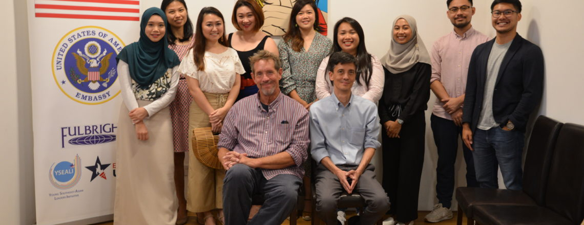 American Screenwriter Visits Brunei As Part of U.S. Arts Envoy Program