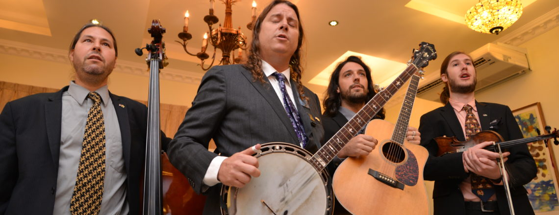 U.S. Embassy Hosts American Bluegrass Band as Arts Envoys