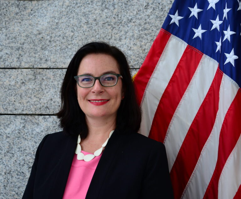 Photo of Chargé d'Affaires Emily M. Fleckner