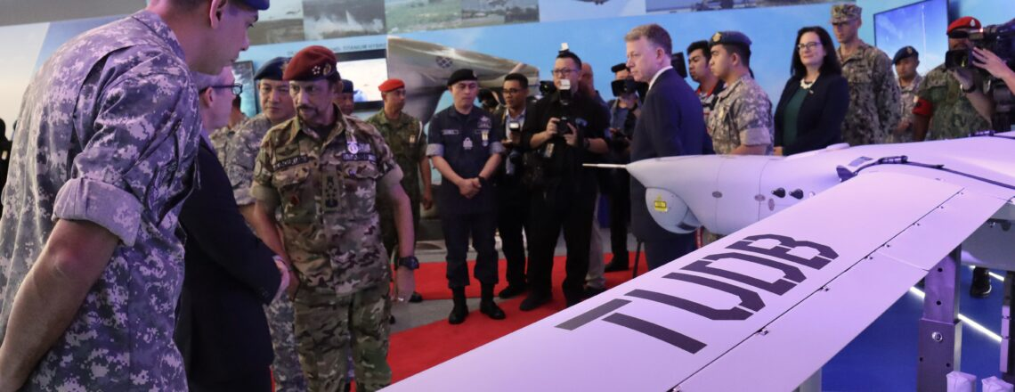 American-made unmanned aerial systems unveiled at RBAF60