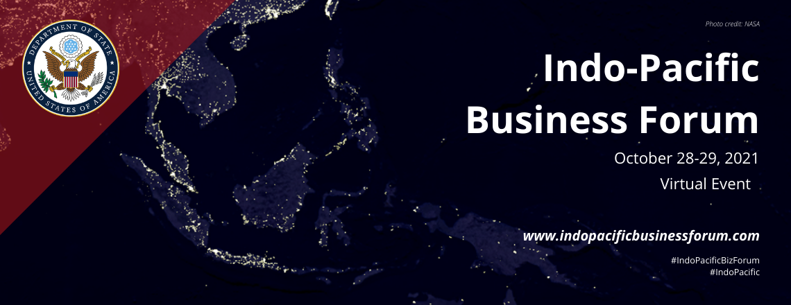 Indo-Pacific Business Forum: Register today!
