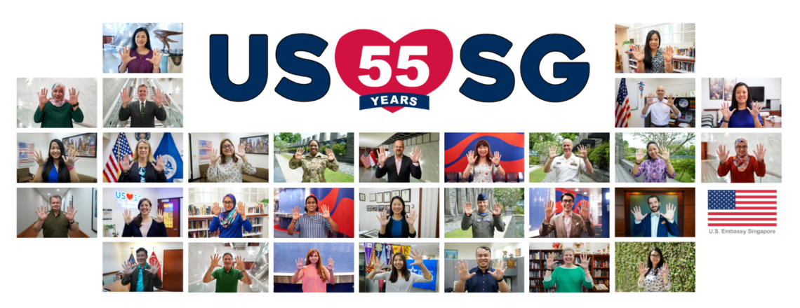 Chargé Mansour Launches USSG55 Campaign Celebrating 55 Years of Diplomatic Relations