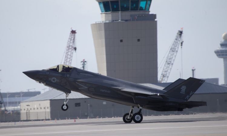U.S. Marine Corps F-35Bs arrive to 2020 Singapore Airshow