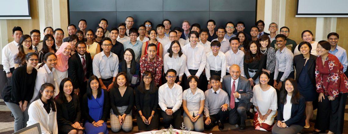 Conrad Centennial Singapore Hosts U.S. Embassy Singapore-ITE Alumni Mentoring Program