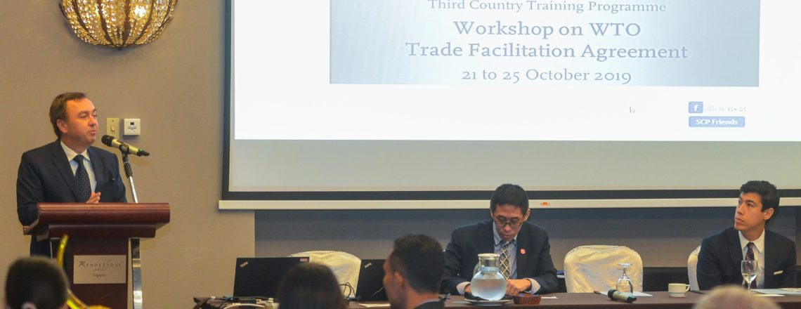 Remarks: TCTP Workshop on Implementing the WTO Trade Facilitation Agreement