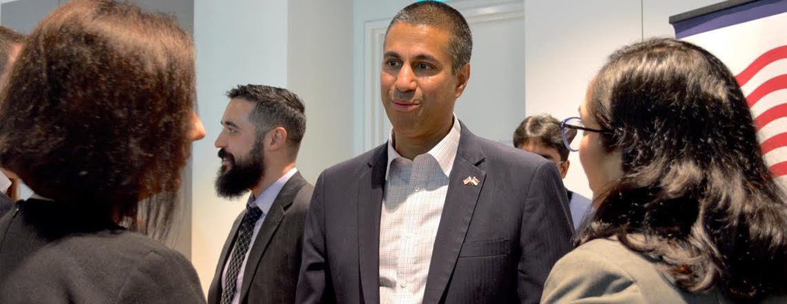 FCC Chairman Ajit Pai Promotes U.S.-Singapore Telecommunications Partnership