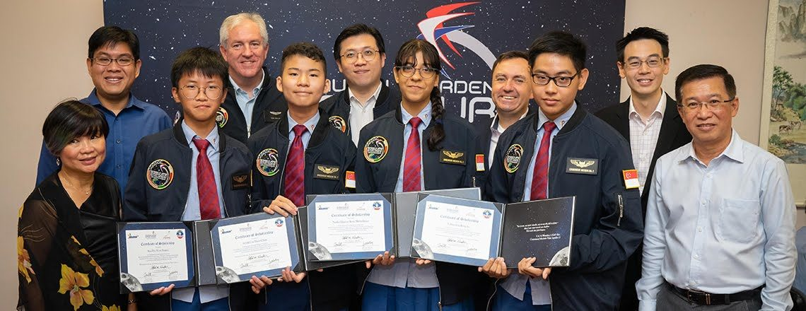 """Singapore's """"Endeavour Space Camp Challenge"""" Winners Announced"""