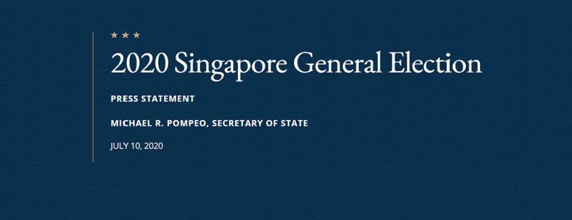 2020 Singapore General Election