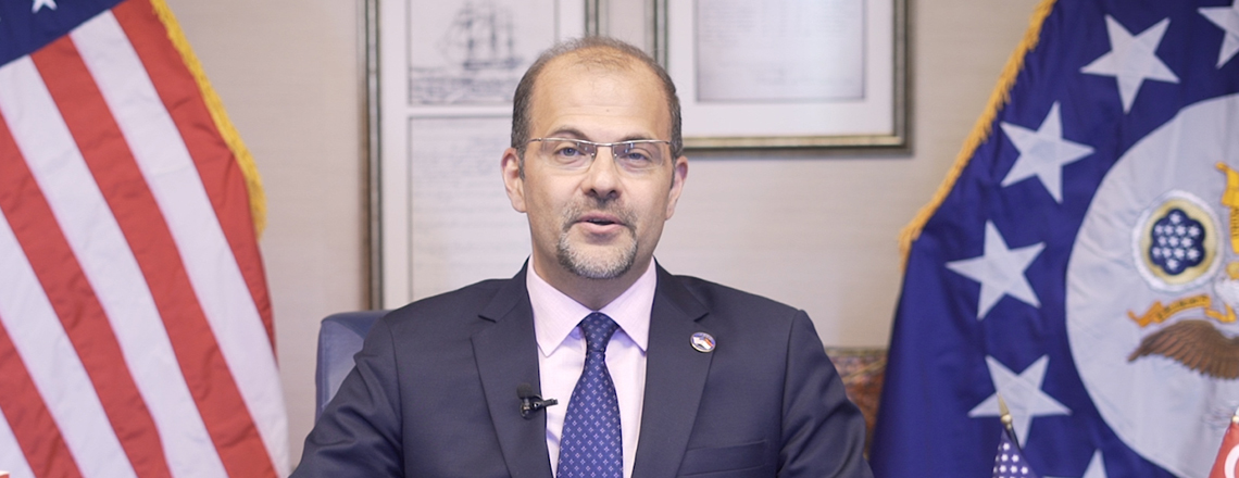 Chargé d'Affaires Mansour Introductory Video