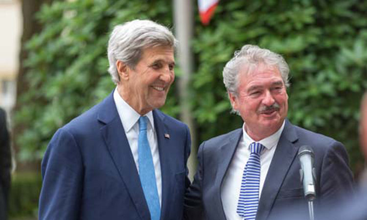 Secretary of State John Kerry Visits Luxembourg