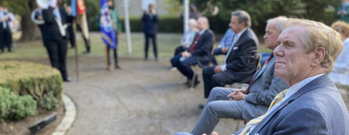 Ambassador Evans attend Petange Liberation Memorial Ceremony
