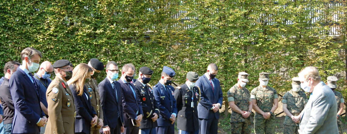 U.S. Embassy Luxembourg held a Moment of Silence to Remember September 11th