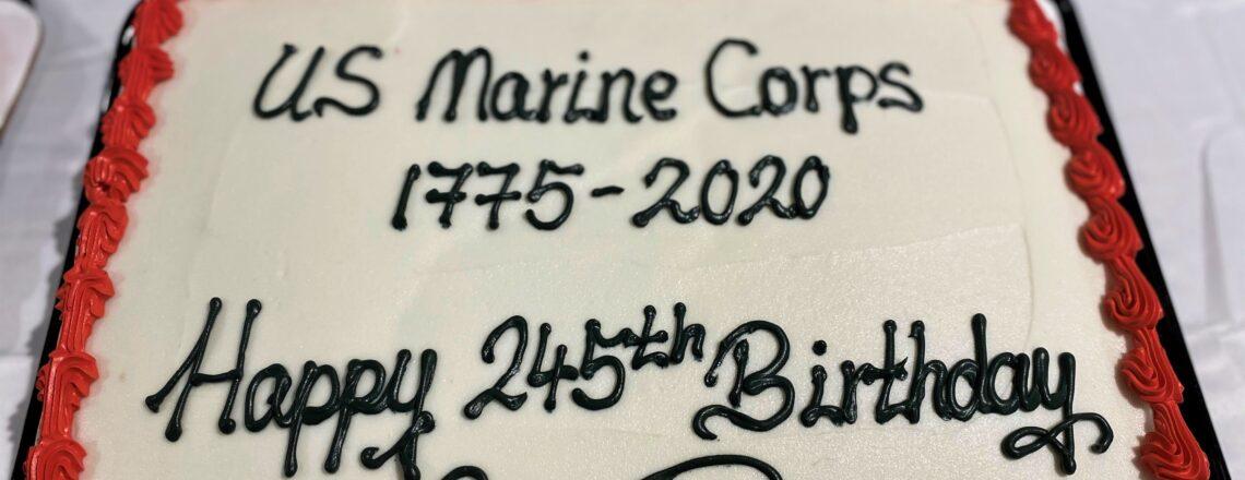 Ambassador Evans Wishes Marine Corps a Happy 245th Birthday