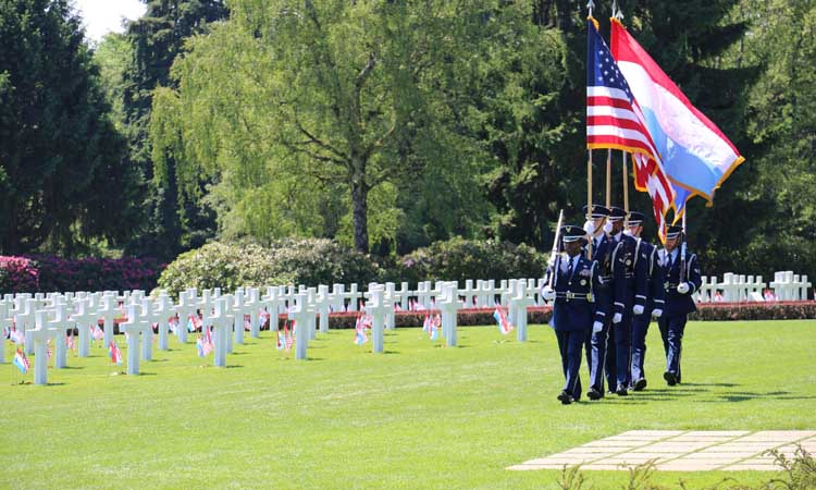 2019 Memorial Day Program At The American Military Cemetery U S