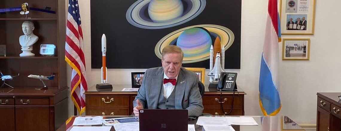 Ambassador Evans Webinar with AMCHAM Luxembourg