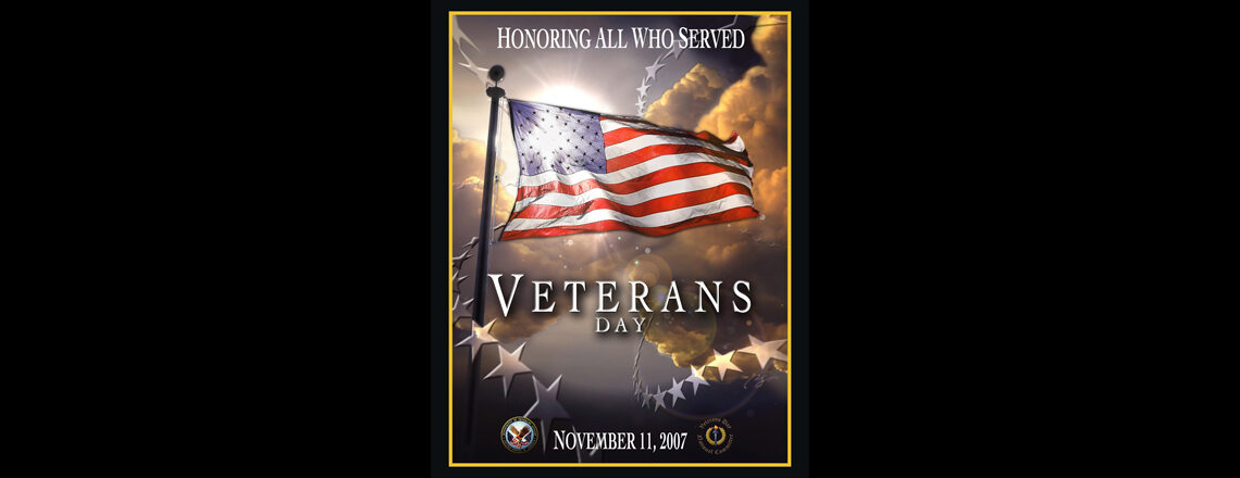 Invitation to the 2020 U.S. Embassy Luxembourg Veterans Day Livestream Celebration