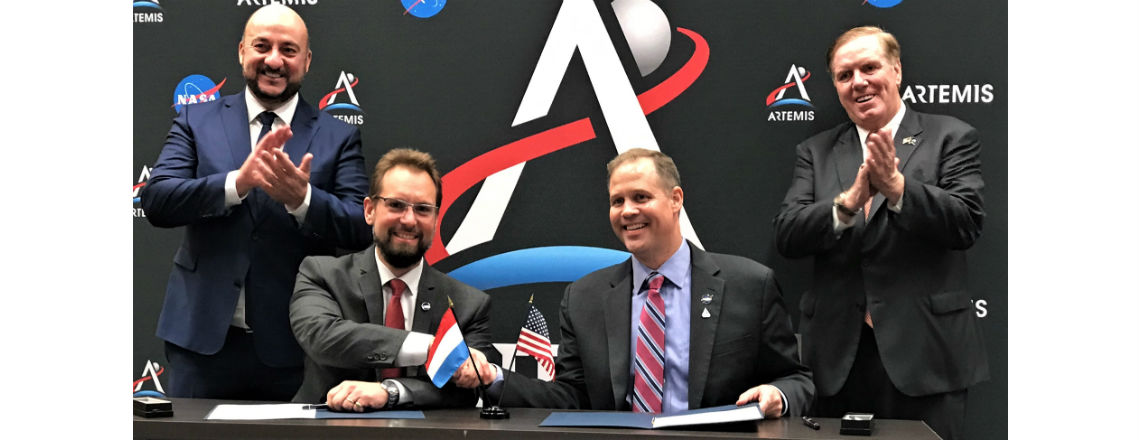 Joint Statement of Intent between NASA and the Luxembourg Space Agency